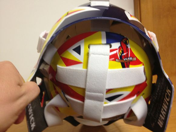 CLEMMENSEN'S NEW BUCKET: #FlaPanthers G Gets New Mask