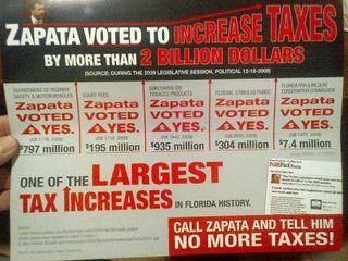 Zapata taxes front
