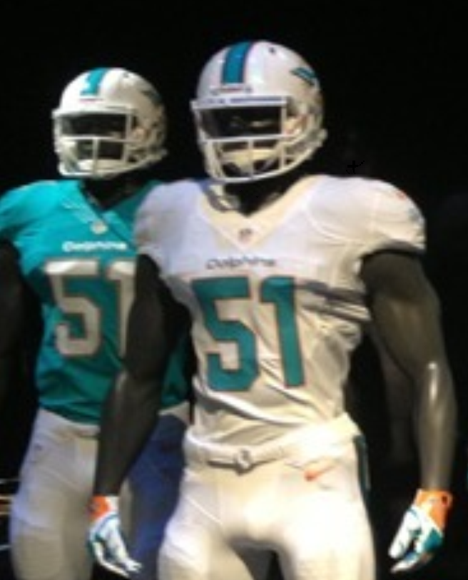 Dolphins uniforms leaked right here