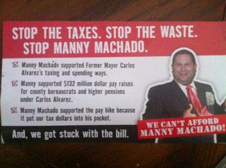 Stop Machado front