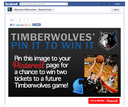 Minnesota Timberwolves Social Engagement Tab