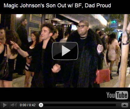 Magic johnson gay rumors