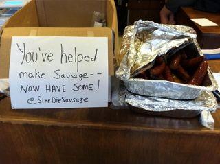 Sine Die Sausage