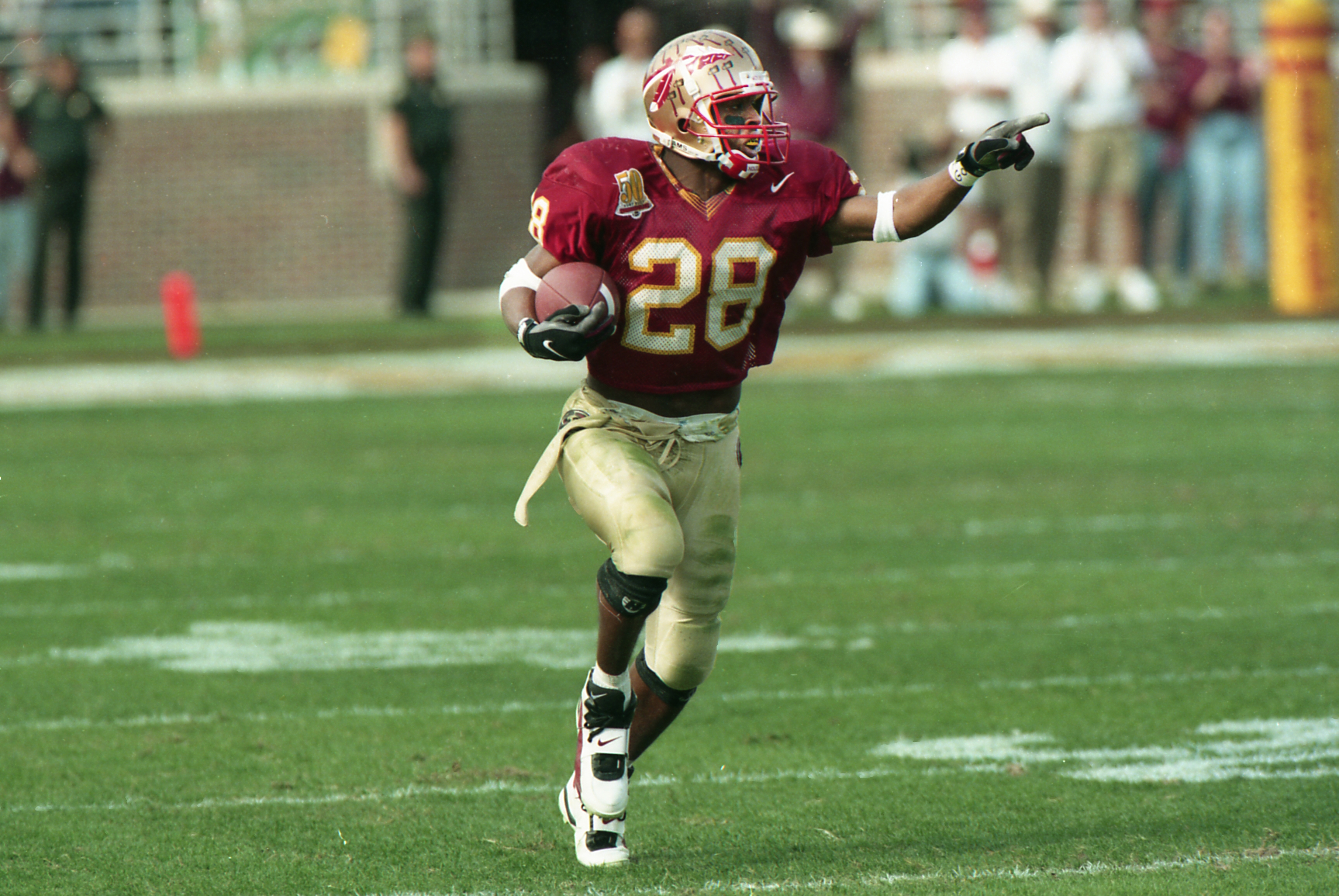 Fsu all time countdown no 5 warrick dunn seminoles chant 28 warrick dunn voltagebd Choice Image