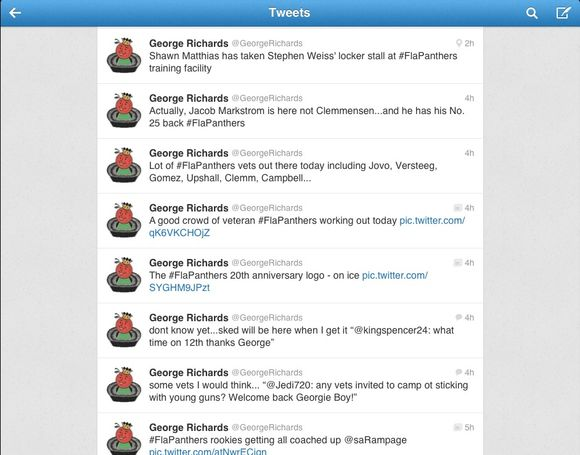 FUN WITH TWITTER: It's Free and it's @GeorgeRichards