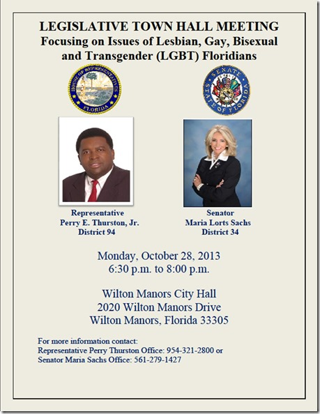 LGBT Legislative Town Hall Flyer 10-28-2013 - Final