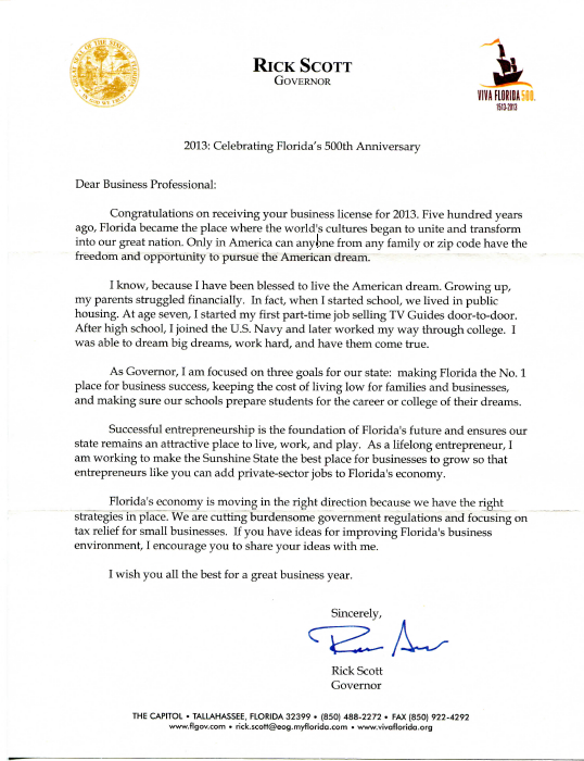 Rick Scott's taxpayer-paid campaign-like letters now going
