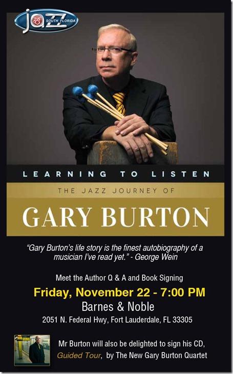 gary burton signing