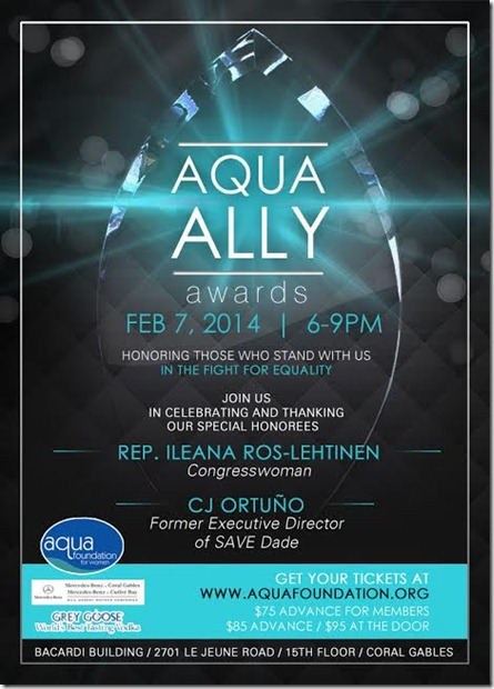 aqua ally awards invite 2014