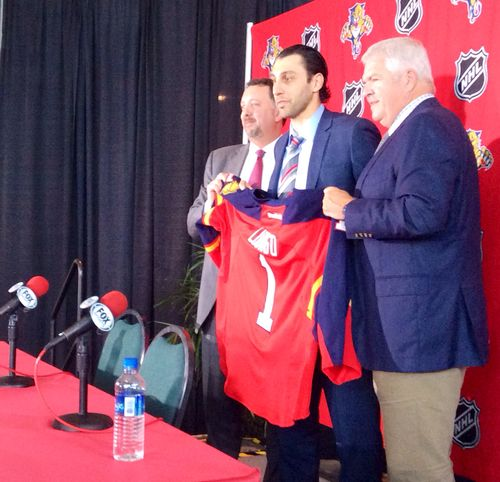 Louie Is Home Roberto Luongo Returns To Florida Panthers Cats