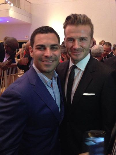 Beckham and suarez
