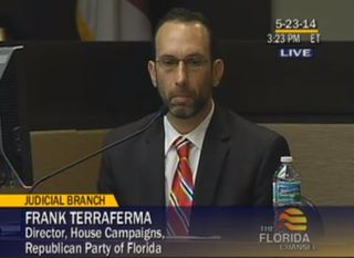 Frank Terraferma Redistricting trial