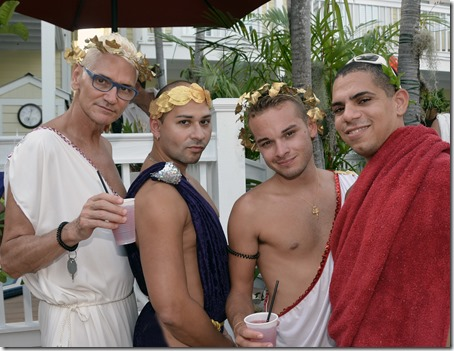 Tropical Heat  Toga Party at the Equator Resort