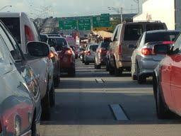 Traffic backup
