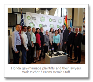 Gay marriage plaintiffs