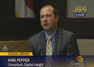 Pepper Redistricting testimony