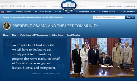 Obama LGBT