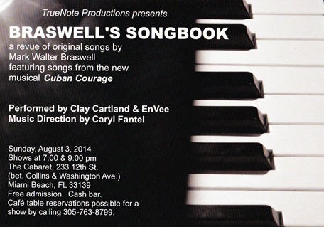 Braswell's Songbook flyer