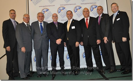 2014-01-29 Miami Gay Chamber mayors' luncheon 011