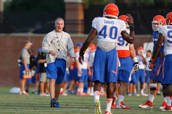 reputable site 3e7aa 3cb0a Durkin talks pass rush, Gerald Willis & more | Gator Clause