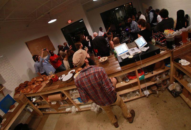 Art Basel 2014 Tuesday 341 Bakery Falafel Gospel