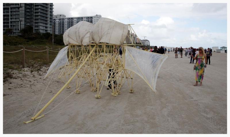 Strandbeests at Art Basel