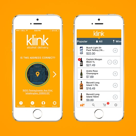 Klink app screenshot (1)