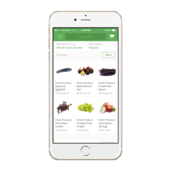 Instacart_WFM screen shot with items