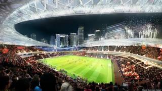 Port soccer stadium