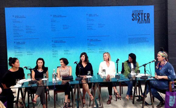 Sister-Artsts & Space Panel.JPG