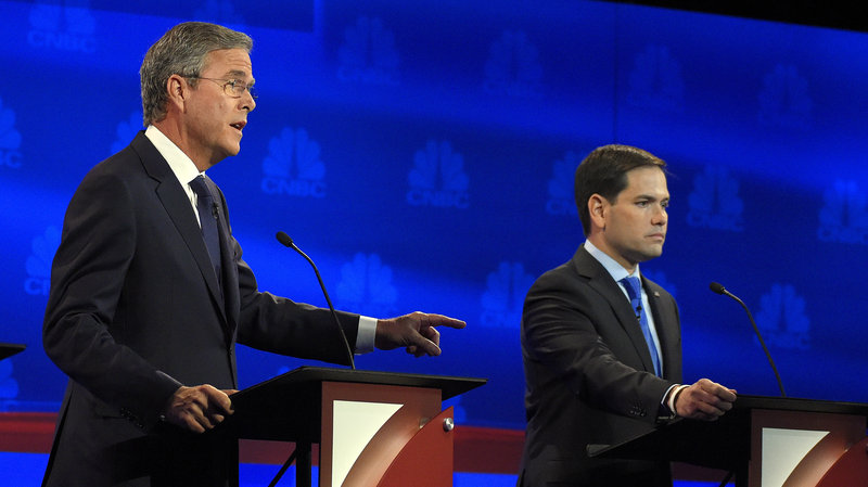 Jeb and Marco at CNBC