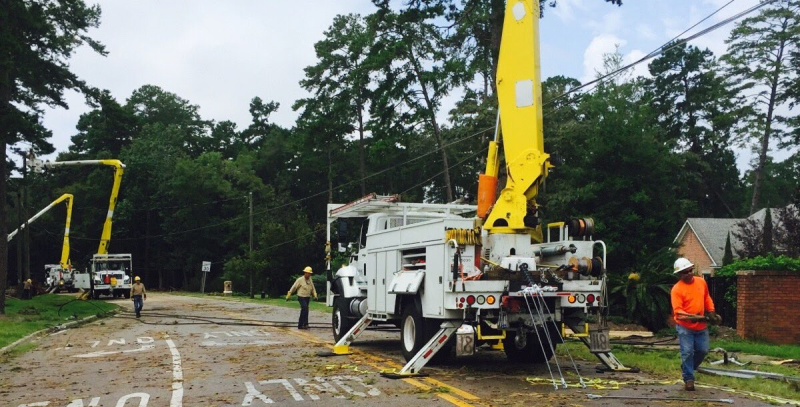 Tallahassee Utility trucks