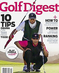 NP-Golf Digest Tiger Woods Obama-102816