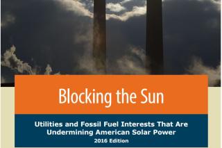 Blocking the Sun report