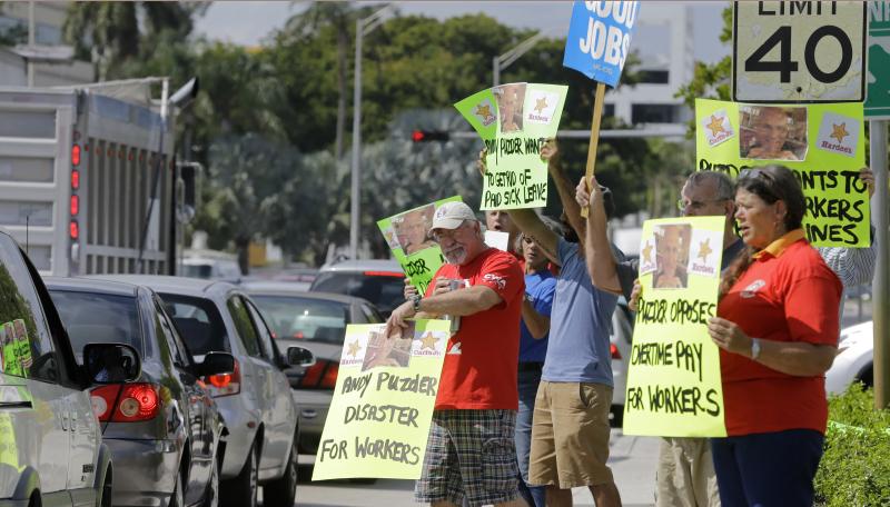 Rubio Protest