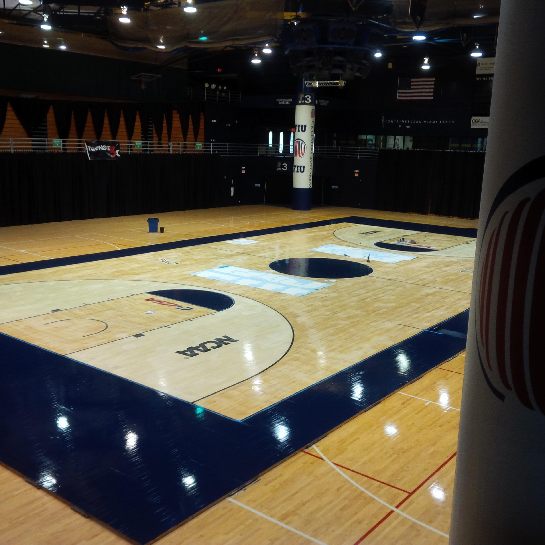 Miami Basketball Arena pm in Fiu Basketball Arena