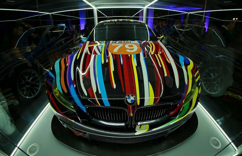 Art Basel 2013 305 BMW Art Car 17 by Jeff Koons BMW M3 GT2 2014
