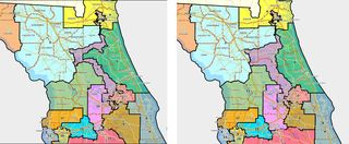 Florida Congressional Districts Map.Court Hears One More Challenge To Florida S Congressional District