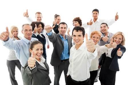 Happy-employee-group