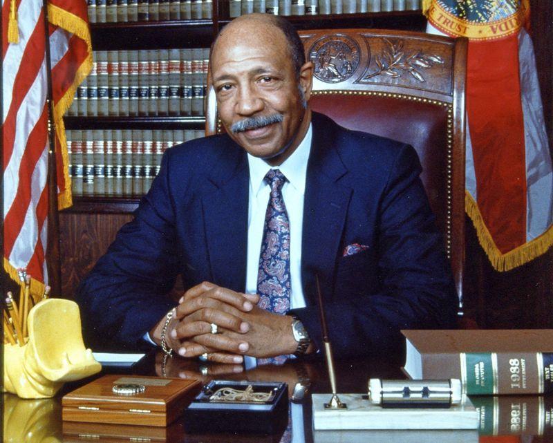 Leander Shaw-Chief Justice_1990