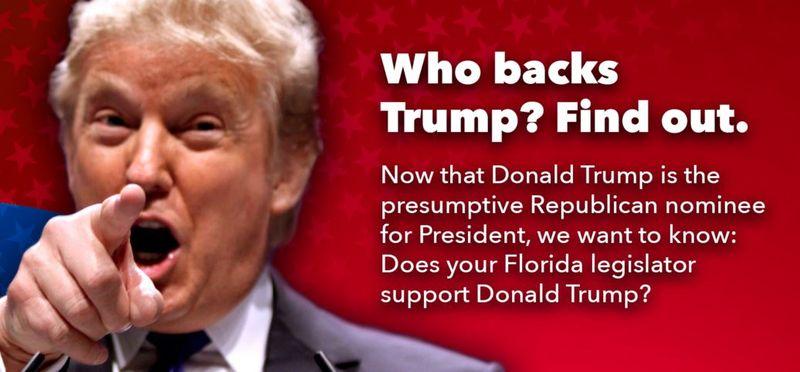Who backs trump