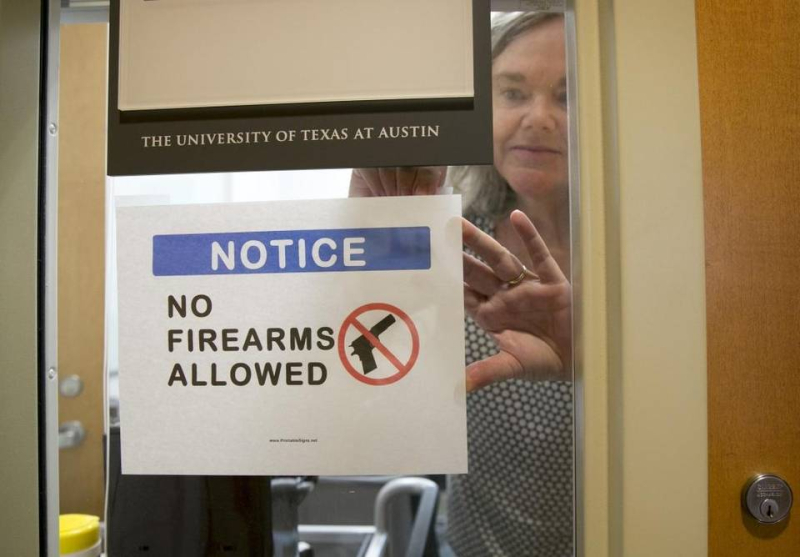 Ut austin guns on campus