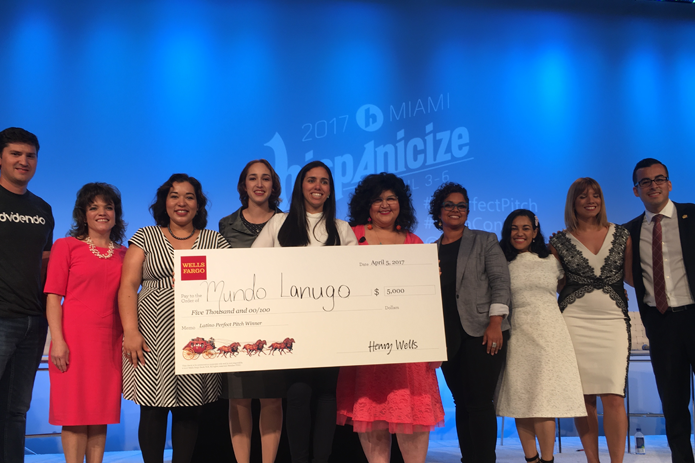 Mundo Lanugo wins Hispanicize small business competition