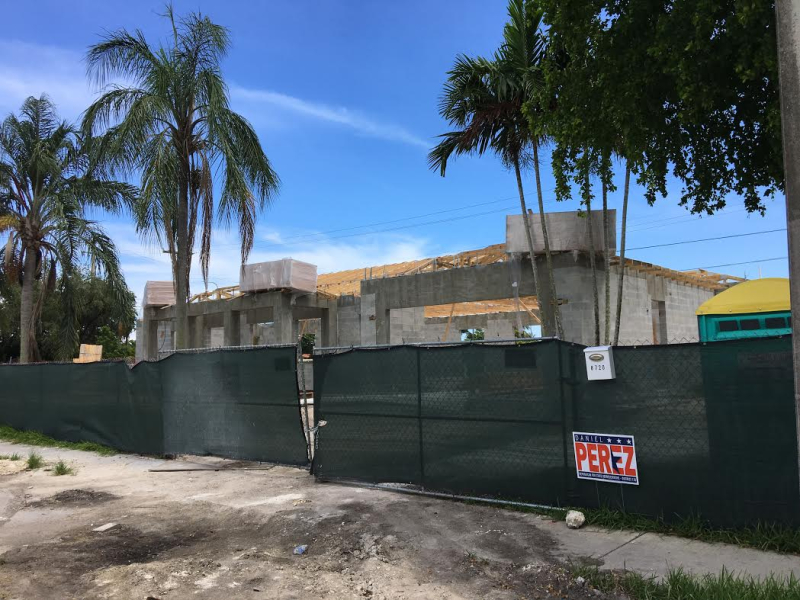 Perez home construction