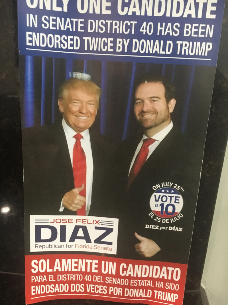 Diaz Trump mail