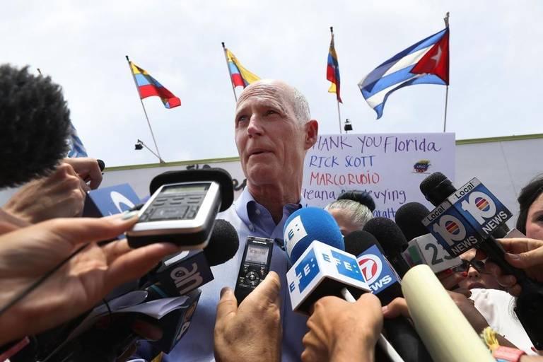 Scott Venezuela rally