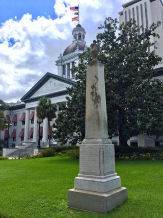 Capitol confederate monument