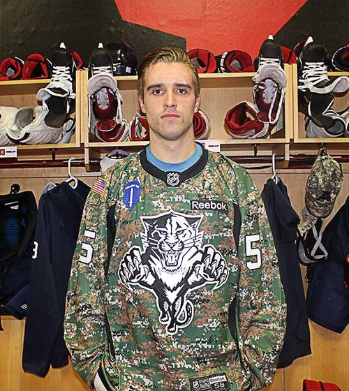 sports shoes 2a78a fc685 florida panthers military jersey