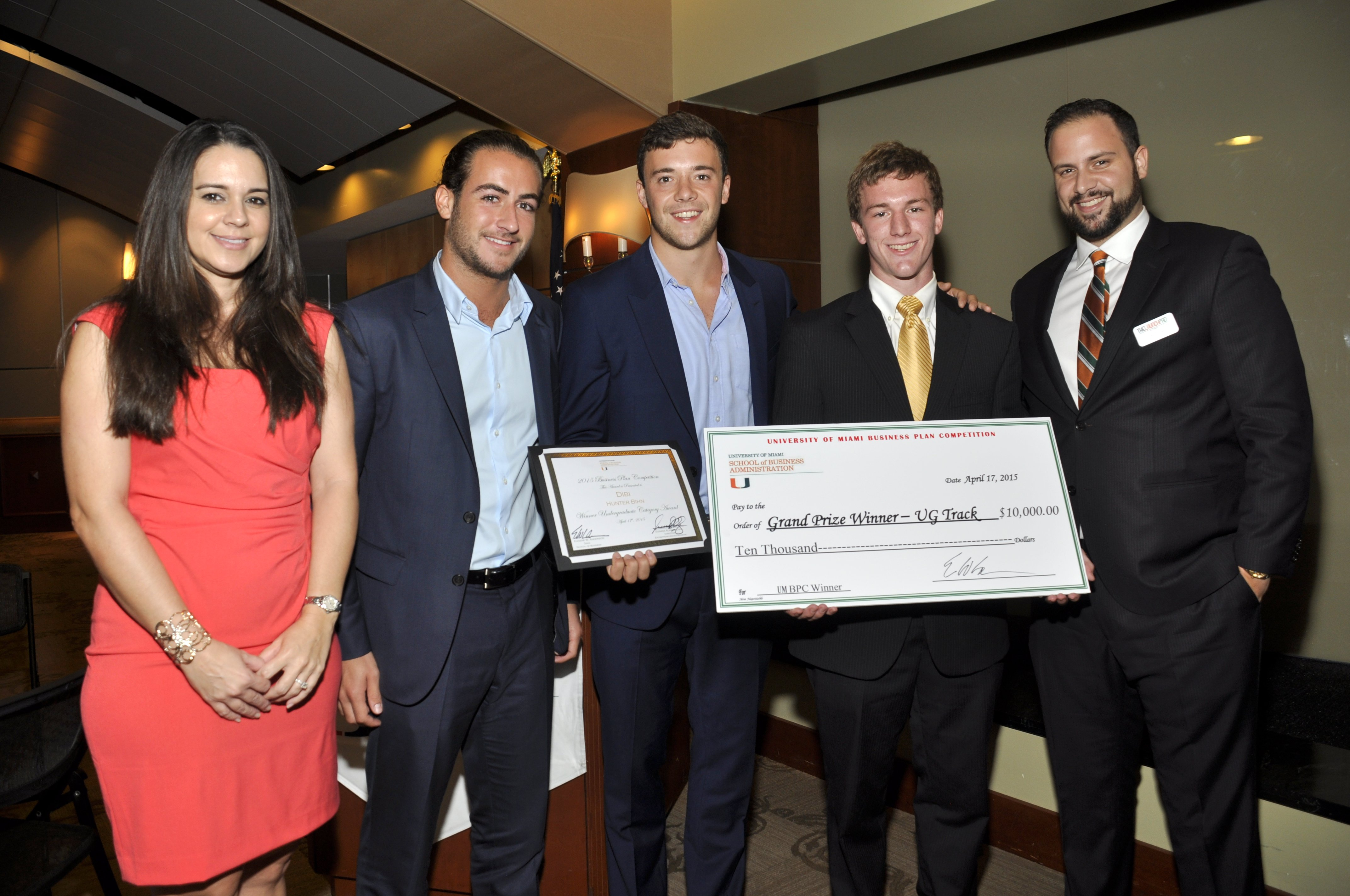 business plan competition winners