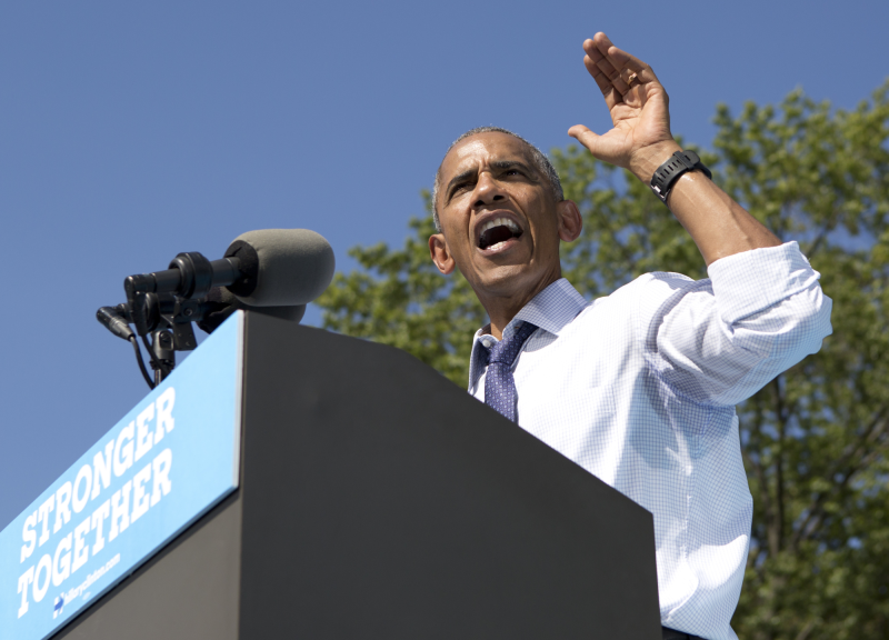 Obamapodiumi